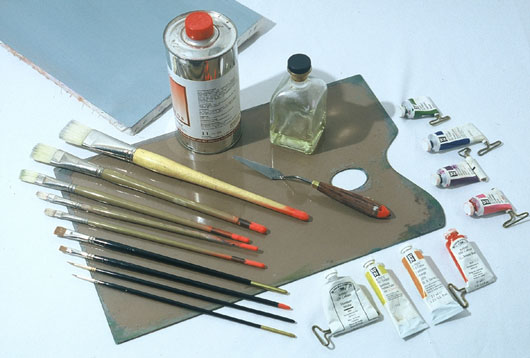 Oil Painting Supplies - Supplies And Oil Painting Materials