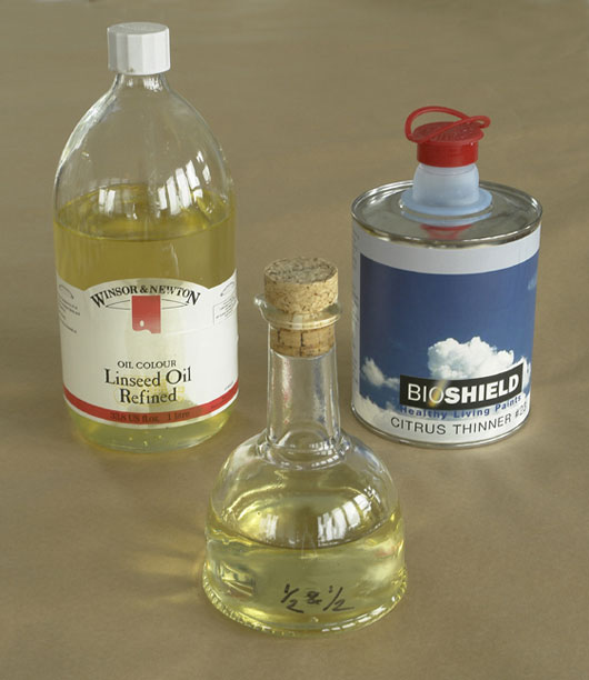 Boiled Linseed Oil For Oil Painting